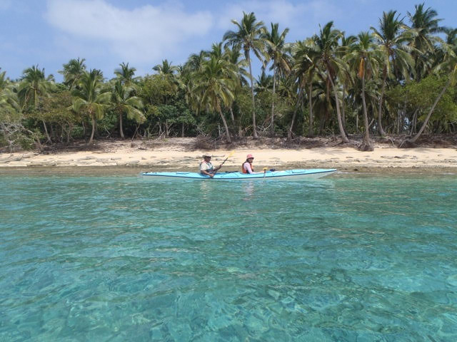 Kayaking in Ha'apai
